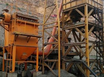 矿山原料破碎系统除尘器